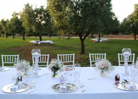 Rustic, countryside wedding in Puglia, Italy