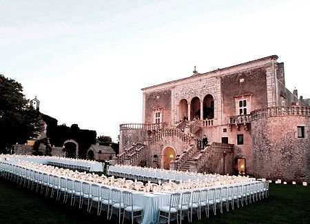 Madama weddings puglia italy venue castle casale