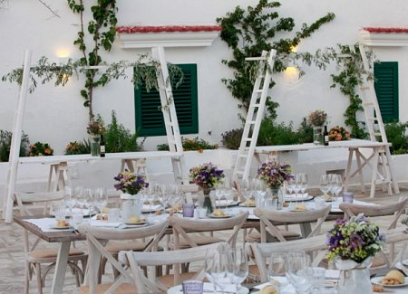 wedding in italy in masseria puglia