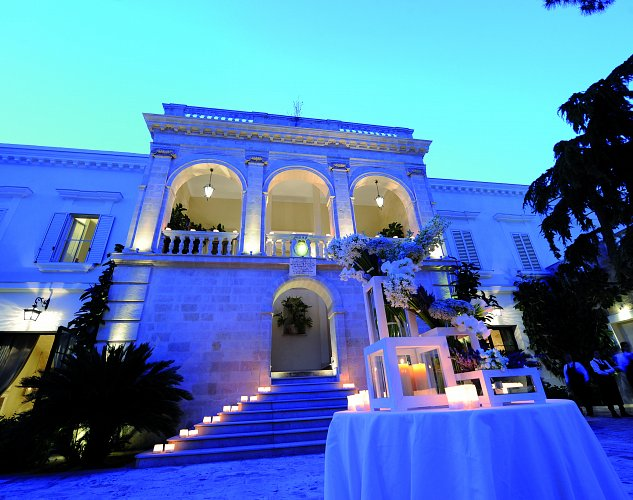 Villa Romantica wedding Puglia