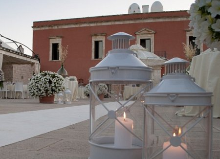 Countryside rustic and chic location for a wedding in Puglia