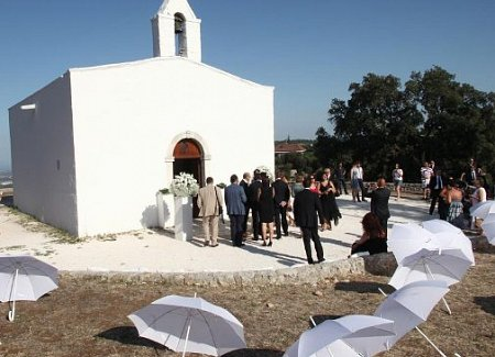 Puglia rustic church wedding Ivano Losito